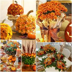 AliLily – Fall Decor Ideas with Chrysanthemums