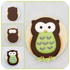 DIY: How to Make Decorated Owl Cookies FROM THE FAB My Owl Barn
