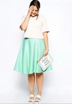 Plus size Big girls fashion styles