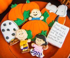 It's the Great Pumpkin, Charlie Brown cookies