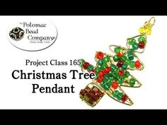 Make a Wire Christmas Tree Pendant (Project Class 165) - YouTube