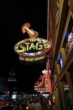 Nashville Bars At Night