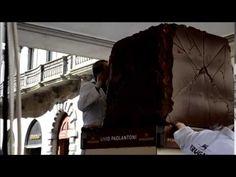 Statue di cioccolato - YouTube