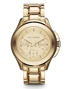 Karl 7 Klassic Gold Watch | Hudson's Bay