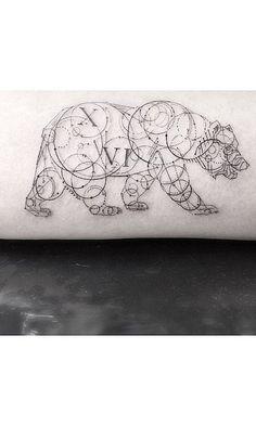 Animal tattoos, Geometric shapes and Geometric tattoos on ...