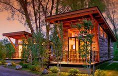 Coolest Cabins: Chic modern cabin