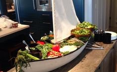 Sailboat Salad Bar
