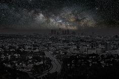 Como seriam as grandes cidades sem nenhuma luz