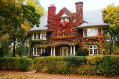 Toronto mansion in Chestnut Park, Canada.  #house