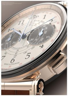 Arcadia Geneve Vintage 22 Watch designed, modeled and rendered by Germain Baillot.