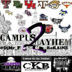 #CampusMayhem2