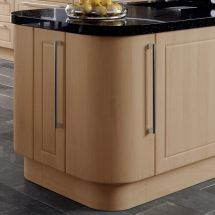 Plain Curved Doors with Curved Plinth