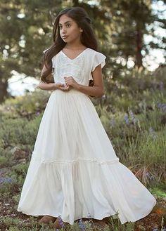 8c3968a8144 17 Best Wedding - Flower Girl Dress images