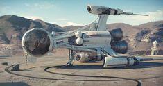 Sci-Fi Fantasy Horror — The amazing science fiction and Star Wars themed. Spaceship Art, Spaceship Design, Spaceship Concept, Arte Sci Fi, Sci Fi Art, Sci Fi Spaceships, Sculpture Metal, Sci Fi Ships, Classic Sci Fi
