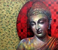 """That life is to my liking which is made up of little deeds, little sacrifices, little kindnesses. Budha Painting, Zen Painting, Tanjore Painting, Figure Painting, Knife Painting, Lord Buddha Wallpapers, Statues, Mantra, Buddha Art"