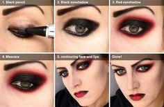 Dicas de Maquiagem Halloween 8