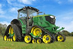 John Deere 6R ..This is a cool concept. Looks pretty mean!!