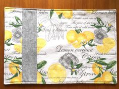 Yellow Placemats, Fabric Placemats, Fabric Coasters, Placemat Sets, Dining Decor, Dining Room, Dining Table, Kitchen Linens, Kitchen Decor