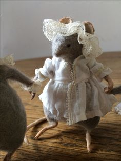 Échelle 1:12 Argile Polymère écureuil maison de poupées jardin animaux accessoire TU B