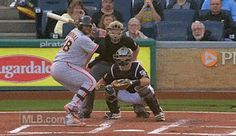 the other paper: Pablo Sandoval swings at a pitch already in the ca...