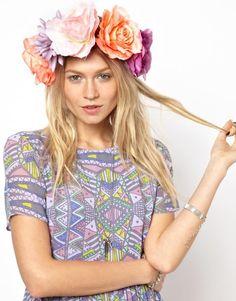 la couronne de fleurs Asos | DailyELLE