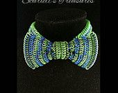 Chain maille bow tie.