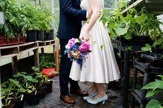 Bright Quirky Crafty Wedding http://www.babbphoto.com/