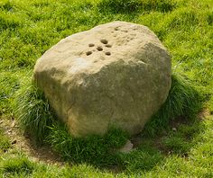 The Plague Stone, Eyam …. In the time of the plague money was left here soaking in vinegar to pay suppliers from outside the village.