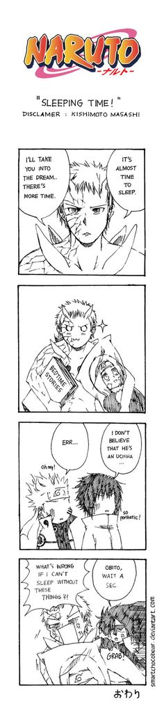 Naruto Doujinshi - Sleeping Time by SmartChocoBear on DeviantArt