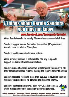 For These Reasons & SO Many More...Bernie Sanders Has My Vote. #RockTheVoteAmerica!