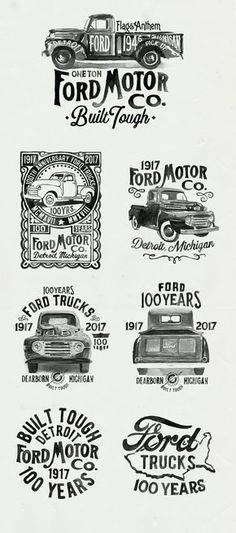 FORD TRUCK BUILT TOUGH ANTIQUATED VINTAGE RETRO METAL TIN SIGN GARAGE DECOR