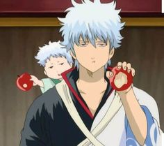 :'D This arc was everything!! Gin makes a surprisingly good dad. Gintama