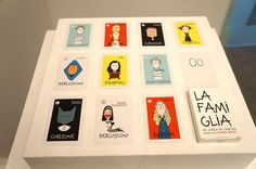 """La Famiglia"" Joaquín Secall. Exposición ""The Pop-Up Royal Academy / The Shop"" Real Academia de Bellas Artes de San Fernando. Madrid #arte #artecontemporáneo #arteespañol #Arterecord 2015 https://twitter.com/arterecord"