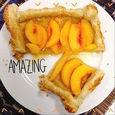 Simple Summer Peach Tart