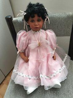 Porcelánová panenka Tawnie od Thelma Resch - 1