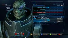 Mass Effect UI