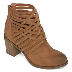 Arizona Orlando Woven Ankle Booties  - JCPenney