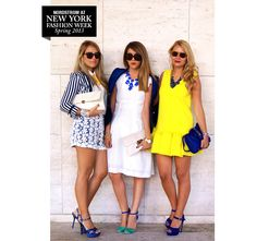 Street Report: Nicoletta, Camilla and Veronica » The Thread | Nordstrom.com #NYFW