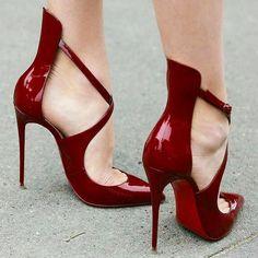 Red and very sexy stiletto www.ScarlettAvery.com