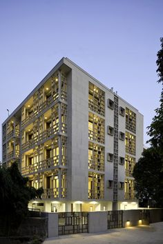Saxena Apartments - New Delhi, India |Vir.Mueller Architects