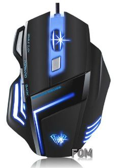 SHARK USB Expert Gaming Mouse.. I really love this mouse. I love this blue!!