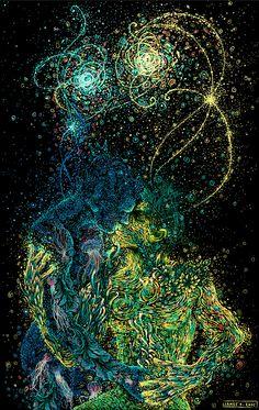 James R. Eads, 1989 | Surrealist Illustrator | The New-Age Van Gogh | Tutt'Art@ | Pittura * Scultura * Poesia * Musica |