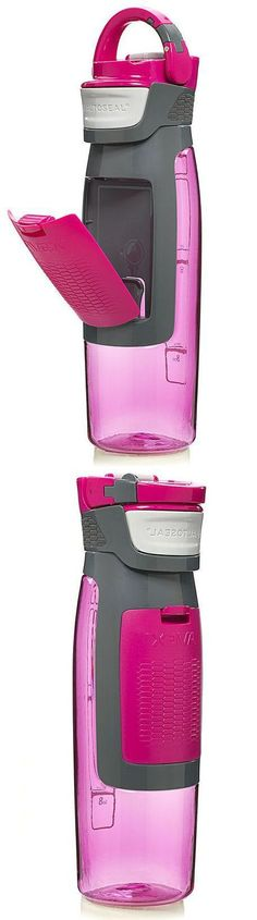 Kangaroo Water Bottle // Has Storage Compartment for keys, money and anything else..