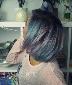 Smokey Pastel Moonstone Hair