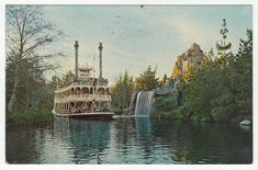 Postcards - United States # 77 - Disneyland