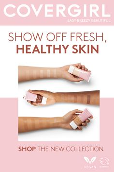 Show off fresh, healthy skin with COVERGIRL Clean Fresh Skin Milk! Liquid Foundation, Makeup Foundation, Smokey Eye Tutorial, Liquid Makeup, Dewy Skin, Flawless Face, Fresh And Clean, Contouring And Highlighting, Shopping
