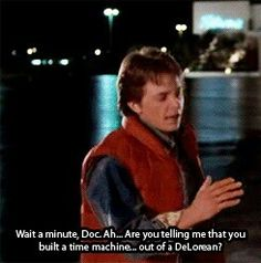 Back to the Future is my all time favorite movie ever since I had watched it for the first time! <3