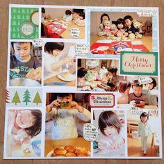 【NEW】1日でアルバム10ページを作りました!! | 大量写真もすっきり可愛くアルバム整理 Six Photo, Smash Book, Page Layout, Diy And Crafts, Polaroid Film, Merry, Album, Frame, Pattern