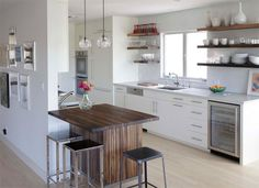 white Scandinavian Kitchen
