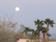 Moonrise over the Sea of Cortez